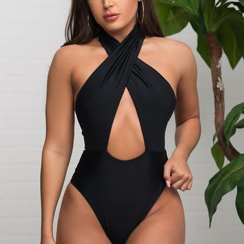 Coco Bay One Piece Swimsuit - Black