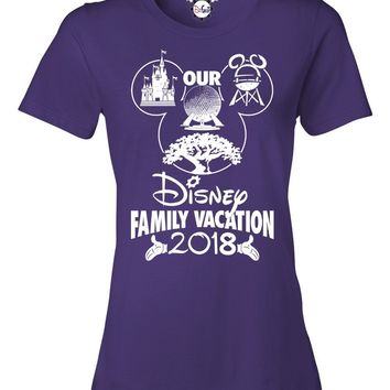Our Disney Family Vacation 2018/2019 T-Shirts for Women