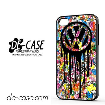 VW Volkswagen Bomb Sticker For Iphone 4 Iphone 4S Case Phone Case Gift Present