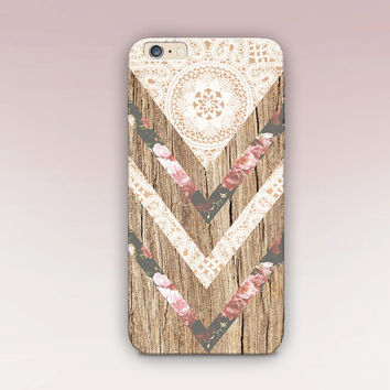 Bohemian Wood Phone Case  - iPhone 6 Case - iPhone 5 Case - iPhone 4 Case - Samsung S4 Case - iPhone 5C - Tough Case - Matte Case - Samsung