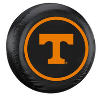 Tennessee Volunteers NCAA Spare Tire Cover (Standard) (Black)
