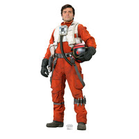 Poe Dameron Force Awakens Cardboard Standup