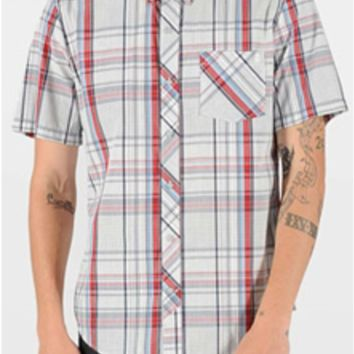 Volcom Weiroh Plaid Woven Shirt for Men A0421401 Other Colors Availabl
