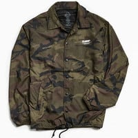 X-Large Border Camo Coach Jacket | Urban Outfitters