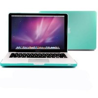 "GMYLE® Turquoise Blue Frosted Matte Hard Case Cover for 13.3"" inch Macbook Pro (Model: A1278) (with 1 Year Warranty from GMYLE)"