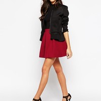 Glamorous | Glamorous A Line Skirt in Felt at ASOS