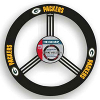 Green Bay Packers NFL Leather Steering Wheel Cover
