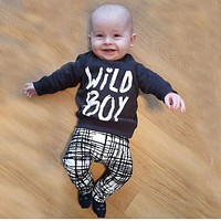 NEW Fall 2-piece Baby Boy Outfits