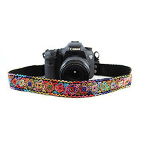 CASLR15-LCPM Prism Lace 1.5In Camera Strap - Capturing Couture