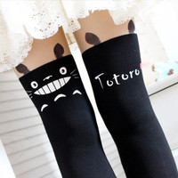 japan Miyazaki Hayao fantasy Tonari no Totoro stocking tights pantyhose leggings