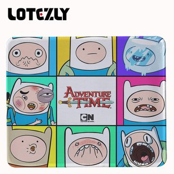 Adventure Time Animated Wallpaper Computer Mouse Pad Mousepads Decorate Your Desk Non-Skid Rubber Pad