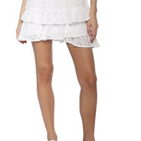 Gab & Kate Ruffle Tiered Skirt