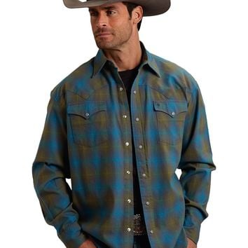 Stetson Original Rugged Mosaic Plaid Shirt
