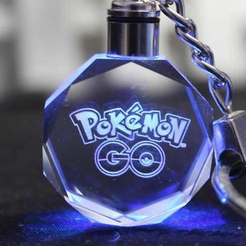 Pokémon GO Light Up Crystal Keychains