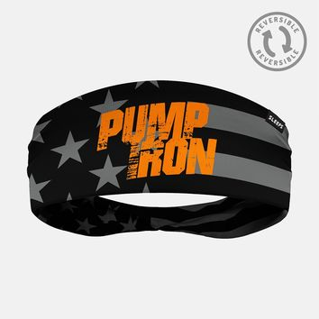 Pump Iron Tactical USA Flag Double Sided Headband