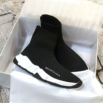 Balenciaga brand wild over the knee boots women's boots women's shoes sports stretch boots F/A