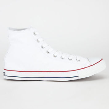 Converse Chuck Taylor Hi Mens Shoes White  In Sizes