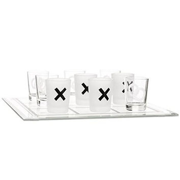 Tic Tac Toe - Shot Glass Drinking Game