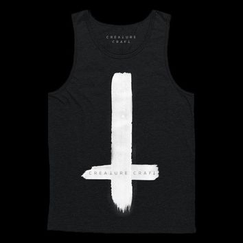 SATANIC CROSS | MENS TANK