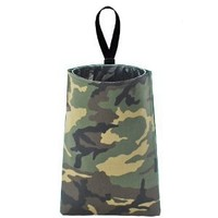 Auto Trash (Camo) by The Mod Mobile - litter bag/garbage can for your car
