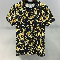 Versace Women Men Print Fashion T-Shirt Top Tee Size M-XXXL