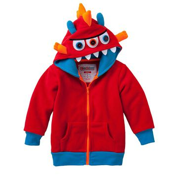 Hoodsbee Eyevan the Monster Plush Hoodie - Toddler
