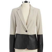 Women's Apparel | 25% Off Suit Separates | Color-Block Blazer | Lord and Taylor