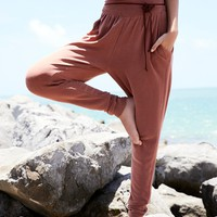 Free People Yella Harem Jogger