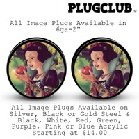 Snow White Plugs | Body Jewelry | Plug Club