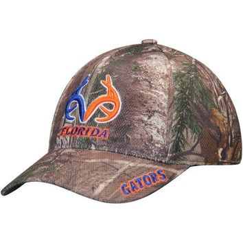 NCAA Florida Gators Top of the World RealTree Extra Memory 1Fit Flex Hat