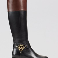 MICHAEL Michael Kors Tall Harness Boots - Fulton | Bloomingdales's