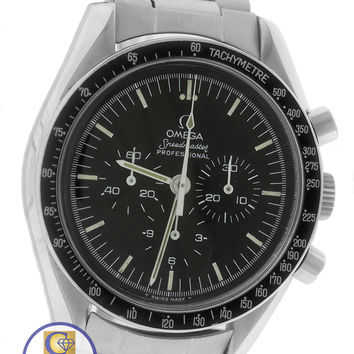 MINT Men's Vintage 1975 Omega Speedmaster Chronograph Moon Watch 145.022 145022