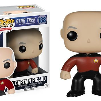 Star Trek: The Next Generation Captain Jean-Luc Picard Pop! Vinyl Figure #188