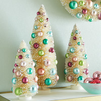 Victorian Christmas Trees, 3-Piece Set - Neiman Marcus