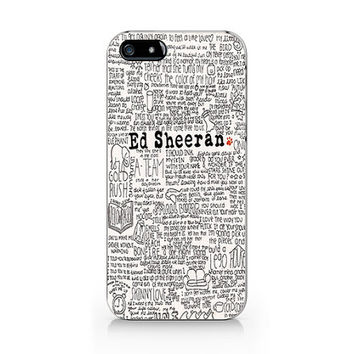 A-266- Ed Sheeran is my boy friend iPhone 4/4S case, iPhone 5/5S case