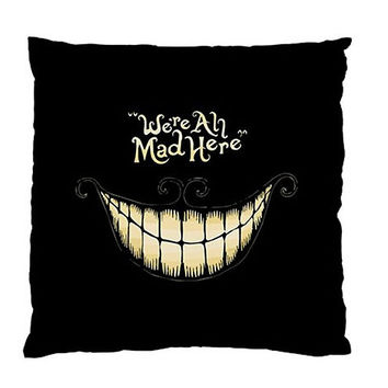 Cheshire Cat Alice in Wonderland Smiling Custom Cushion Case