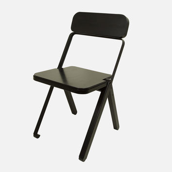 Profile Folding Chair - Black/Black