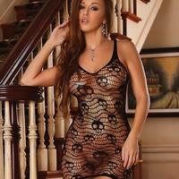 Club Seamless Skull Dress