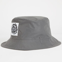 Milkcrate Athletics Reflective Mens Bucket Hat Silver One Size For Men 25341214001