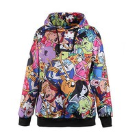 Adventure Time Colorful Hoodie