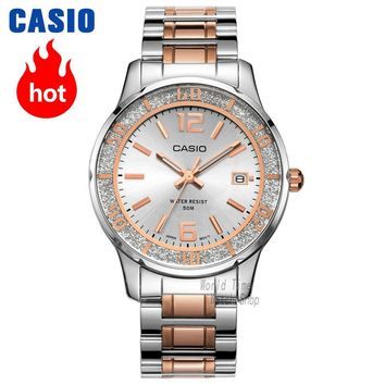 Casio watch Fashion Casual Quartz Needle Steel Watch LTP-1359RG-7A LTP-1359SG-7A