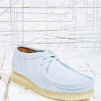 Clarks Blue Suede Wallabee Shoes at Urban Outfitters