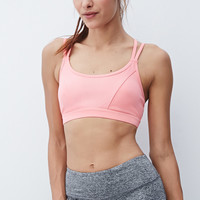 Medium Impact - Strappy-Back Sports Bra
