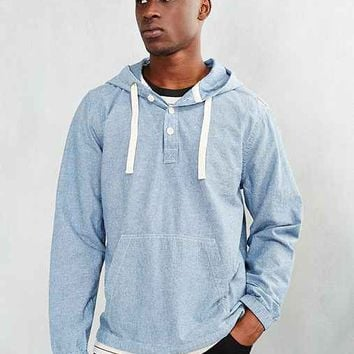 CPO Chambray Hooded Popover Shirt