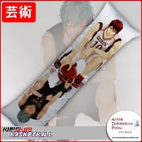 New Kuroko no Basket Anime Dakimakura Japanese Hugging Body Pillow Cover GZFONG178
