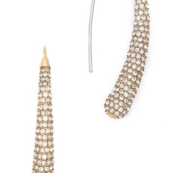 Michael Kors Pave Drop Statement Earrings