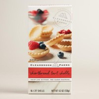 Clearbrook Farms Shortbread Tart Shells