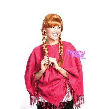Anna -Red Full Wig