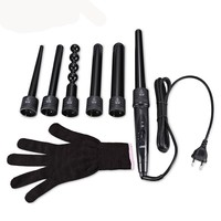 6 In 1 Hair Curling Wand Electric