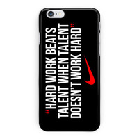 Nike Work Hard Quote iPhone 6 Plus Case